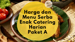 paket catering harian A